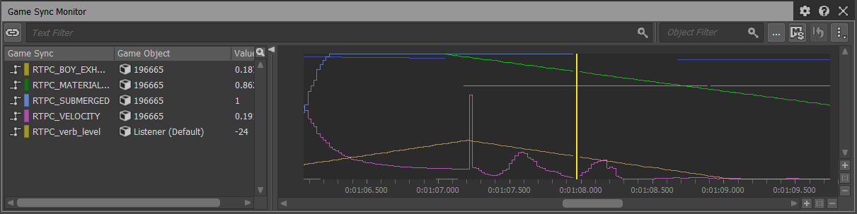 Wwise - Game Sync Monitor