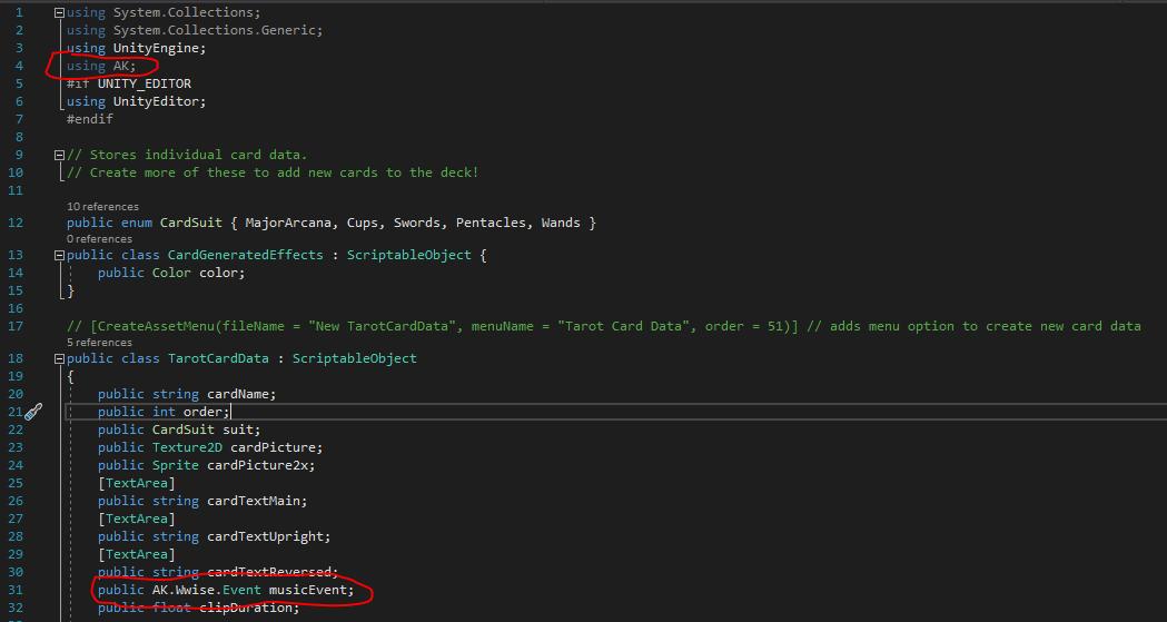 TarotCardDataScript